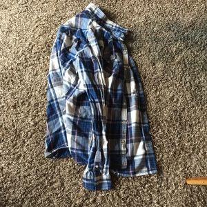 Small grunge flannel